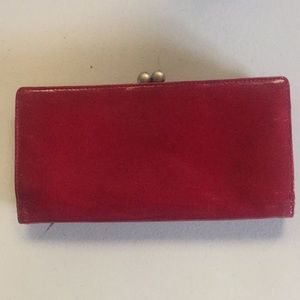 Kenneth Cole Bags - Kenneth Cole red leather wallet